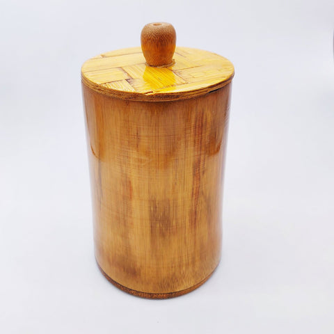 Bamboo Organic Tea/Sugar Container