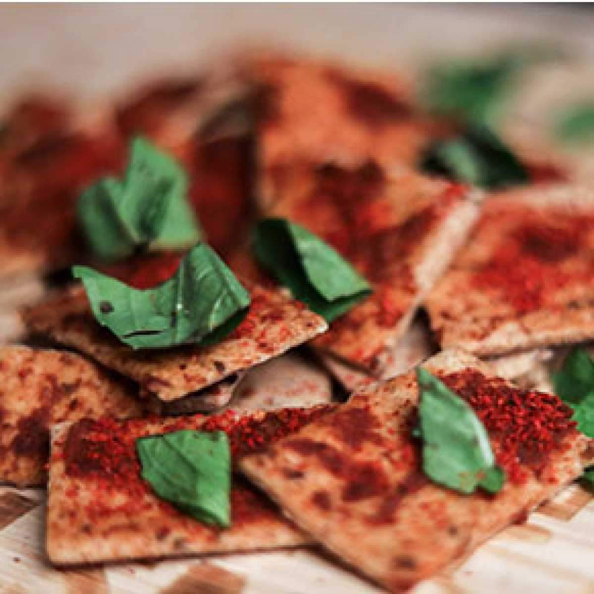 Sundried Tomato & Basil Crackers