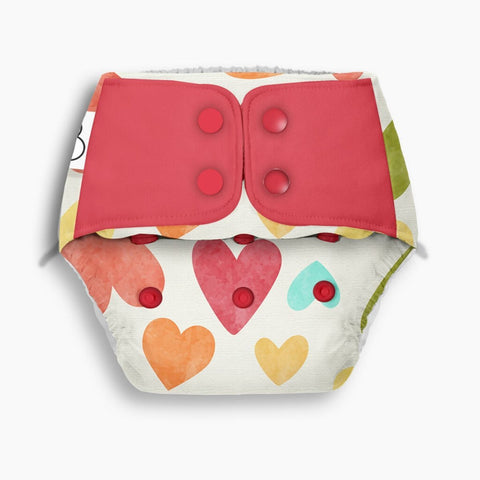 Freesize UNO - Baby Hearts + 2 Dry Feel Pads Set