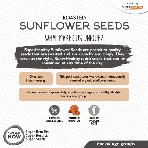 Roasted Sunflower Seeds