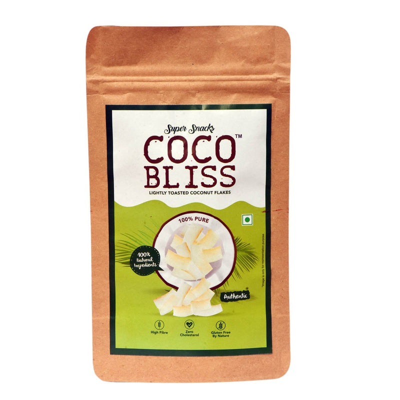 Coco Bliss Toasted Coconut Chips( 4 Packs)