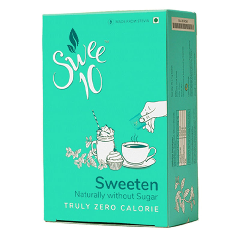 Swee10, 90g Box, Natural Sweetener made from Stevia