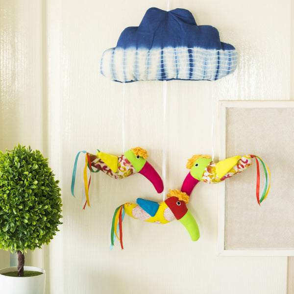 Mobile Hangers Cloud And Birds Activity Toys at Qtrove