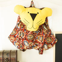 Fabric Tiger Back Pack