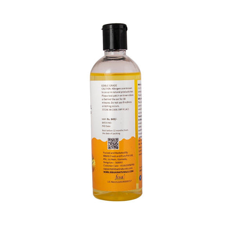 Ibbani Naturals Sweet Almond Oil For Skin and Hair (100% Pure and Cold Pressed) 200ml FSSAI Approved