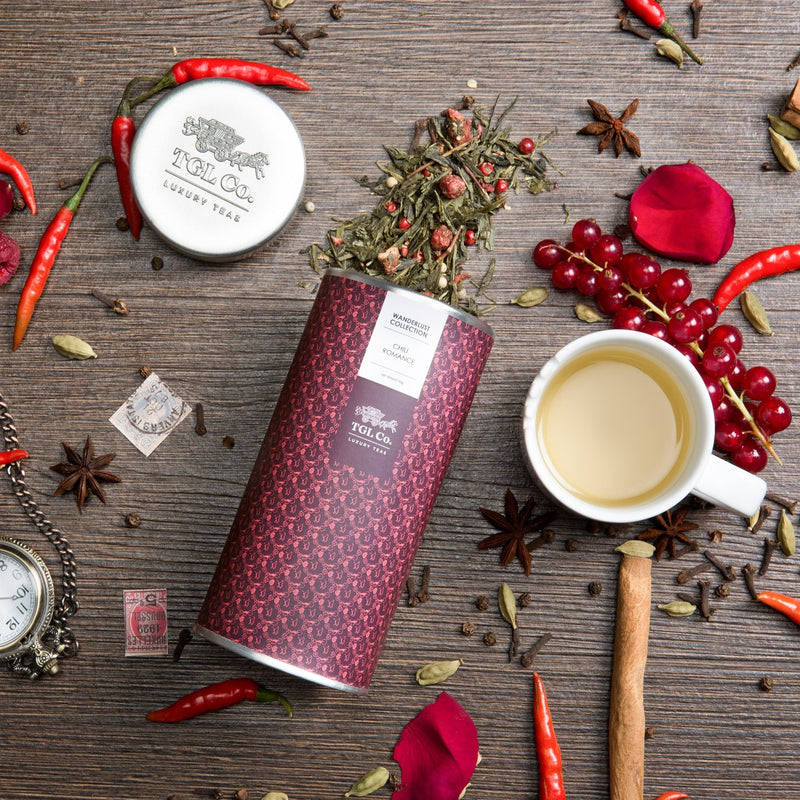 Handcrafted Chilli Romance Tea