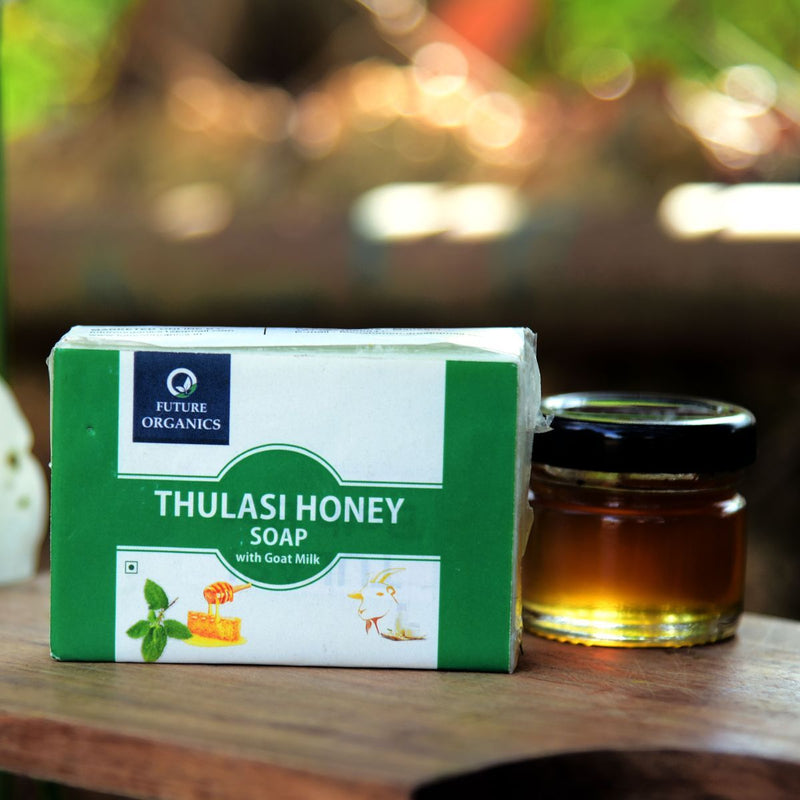 Thulasi Honey Soap With Goat (Pack of 2)