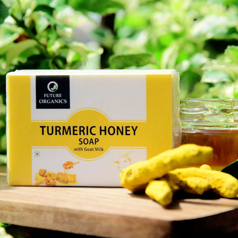Turmeric Honey Soap With Goat Milk (Pack of 2)