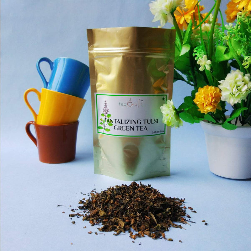 Tantalizing Tulsi Green Tea