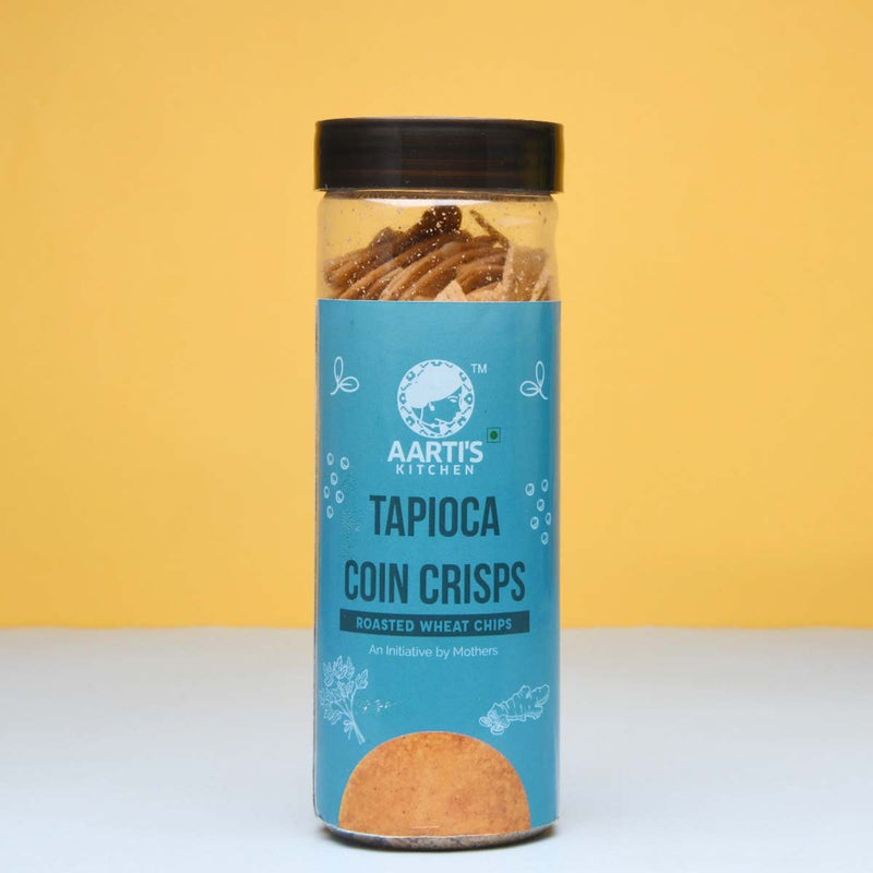 Tapioca Coin Crisps (Pack Of 2)