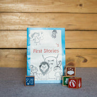 Eco-Friendly Wooden Tell-me-a-Story Cubes