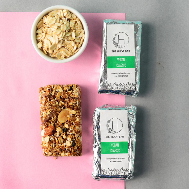 Vegan Classic Granola Bar With Certified Organic Ingredients