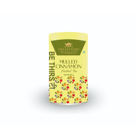 The Kettlery Mulled Cinnamon Fruit Tea Tin - 65g