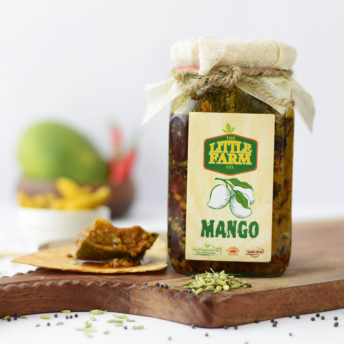 Mango Pickle-Homemade