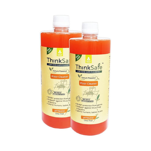 ThinkSafe Natural Floor Cleaner (Citrus Fresh - Pack of 2)