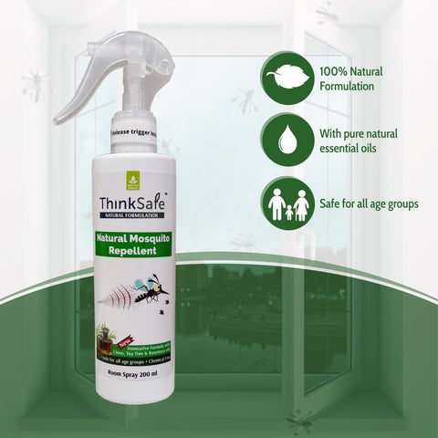 Thinksafe Natural Mosquito Repellent Room Spray