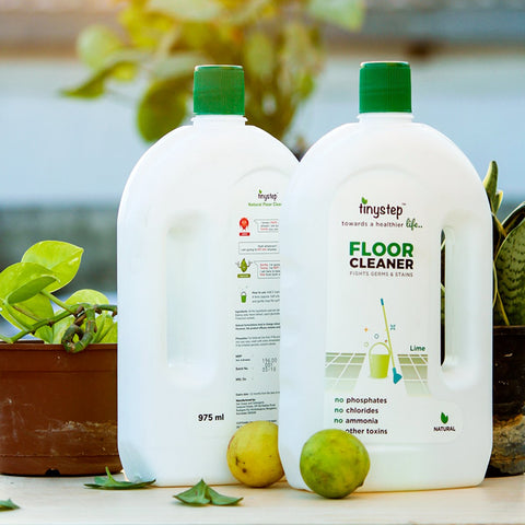 Natural Floor Cleaner (No Ammonia, Phosphates, Chlorides, Other Toxins) (Pack of 2)