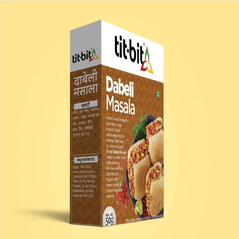Dabeli Masala - Pack of 10, 10 x 50 g