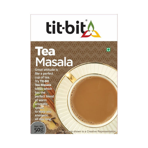 Tea Masala - Pack of 5, 5 x 50 g