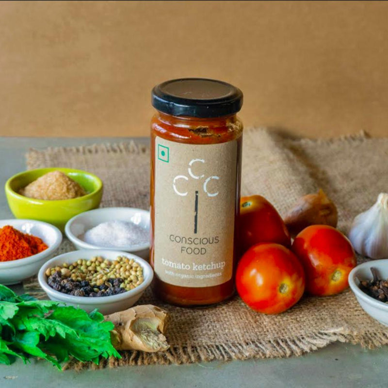 Tomato Ketchup (With Organic Ingredients) 250g