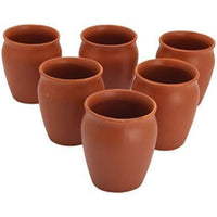 Traditional Porcelain Kulhar  Diwali Gift ( Set Of 6)