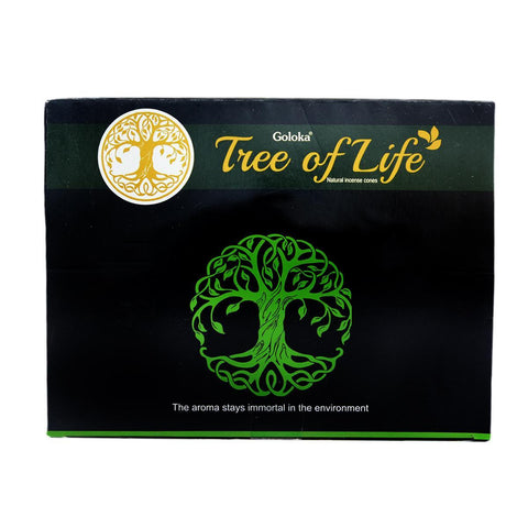 Tree Of Life Dhoop Pack Of 12 (10 Cones Each Pack)