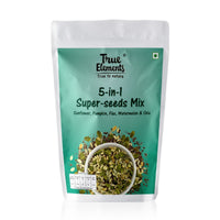 5-in-1 Super Seeds Mix (Pumpkin, Sunflower, Flax Seeds, Watermelon & Chia) 125 each Pack of 3