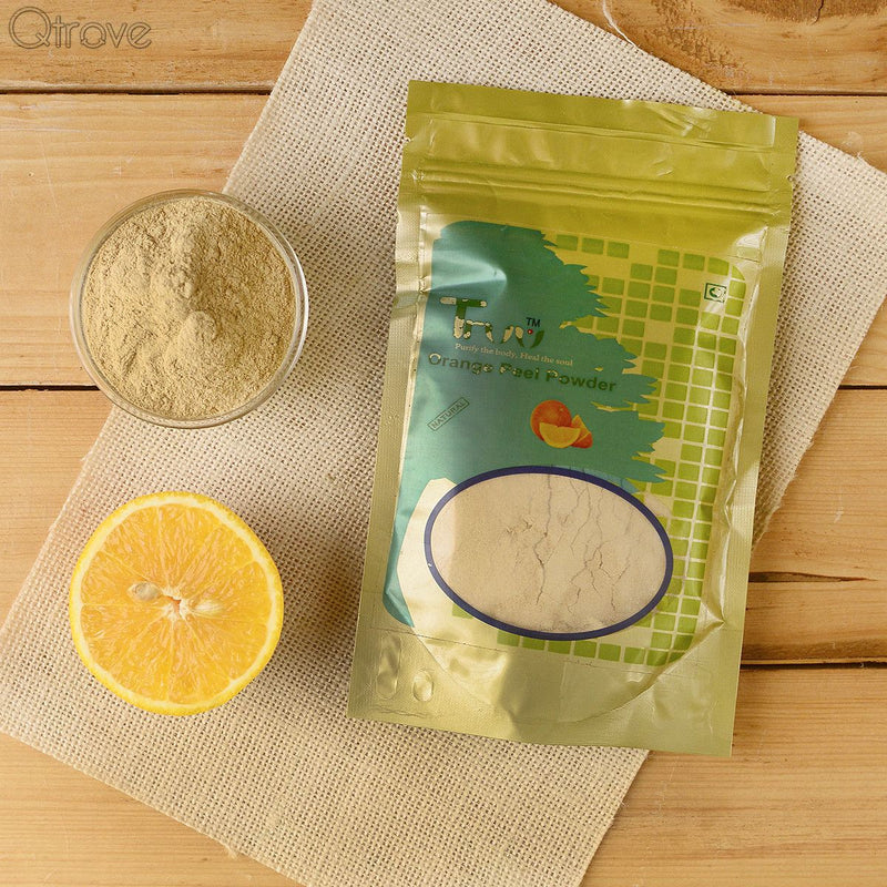 Pure Orange Peel Powder