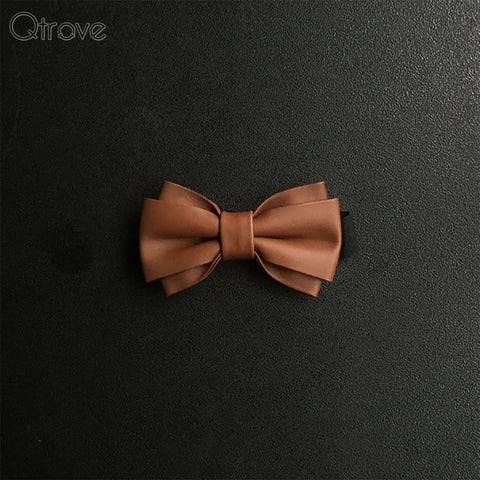 Twin Wide Bow Tie