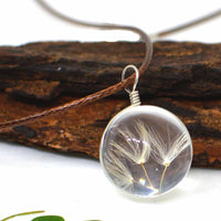 Twines of Magic Dandelion Seeds Necklace
