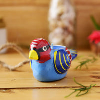 Handmade Bird Candle Holder From The Tales Of Panchatantra