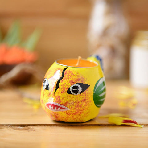 Handmade Fish Candle Holder From The Tales Of Panchatantra