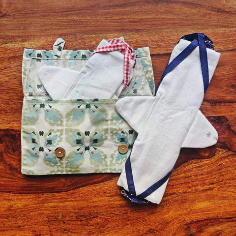 Unmukt Reusable Sanitary Napkins: Trial Kit