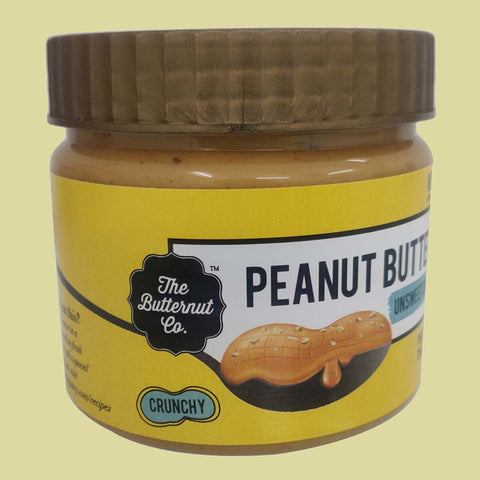 Unsweetened Peanut Butter Crunchy