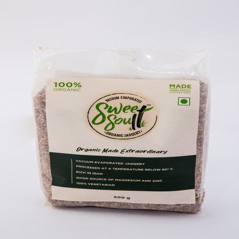 Organic Jaggery Powder (Vacuum Evaporated) [Pack of 2]