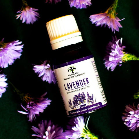 Lavender Essential Oil (100% Natural & Undiluted)
