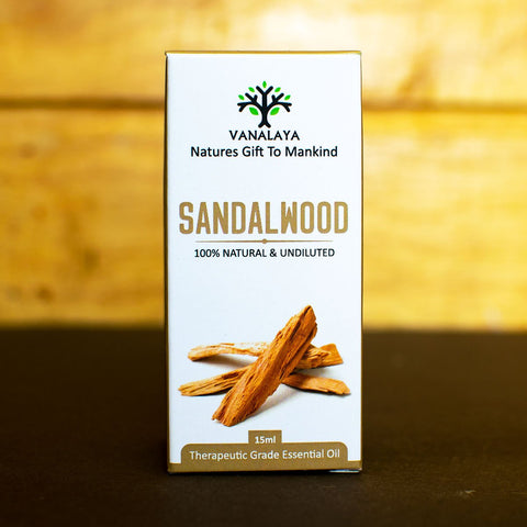 Sandalwood Essential Oil (100% Natural & Undiluted)