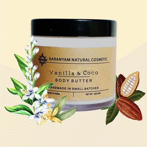 Vanilla And Coconut Body Butter
