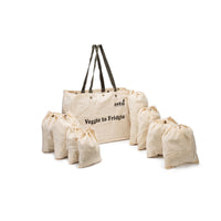 Veggie to Fridgie Bag (Silver Fir)(Set of 9)