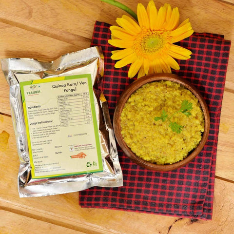 Ready To Cook - Quinoa Kara/Venn Pongal (Pack of 2)