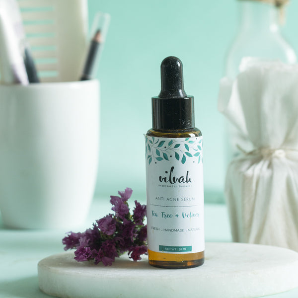 Plant-Based Anti Acne And Scar Serum at Qtrove