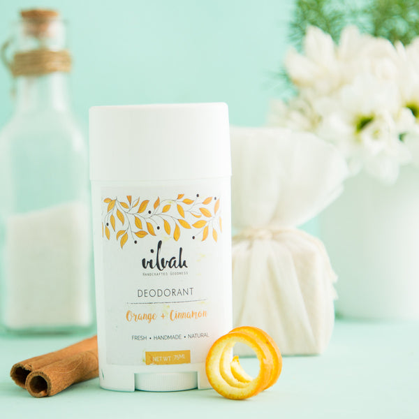 Natural Orange And Cinnamon Roll-On Deodorant at Qtrove