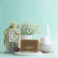 Handmade Coconut Milk And Egg Shampoo Bar