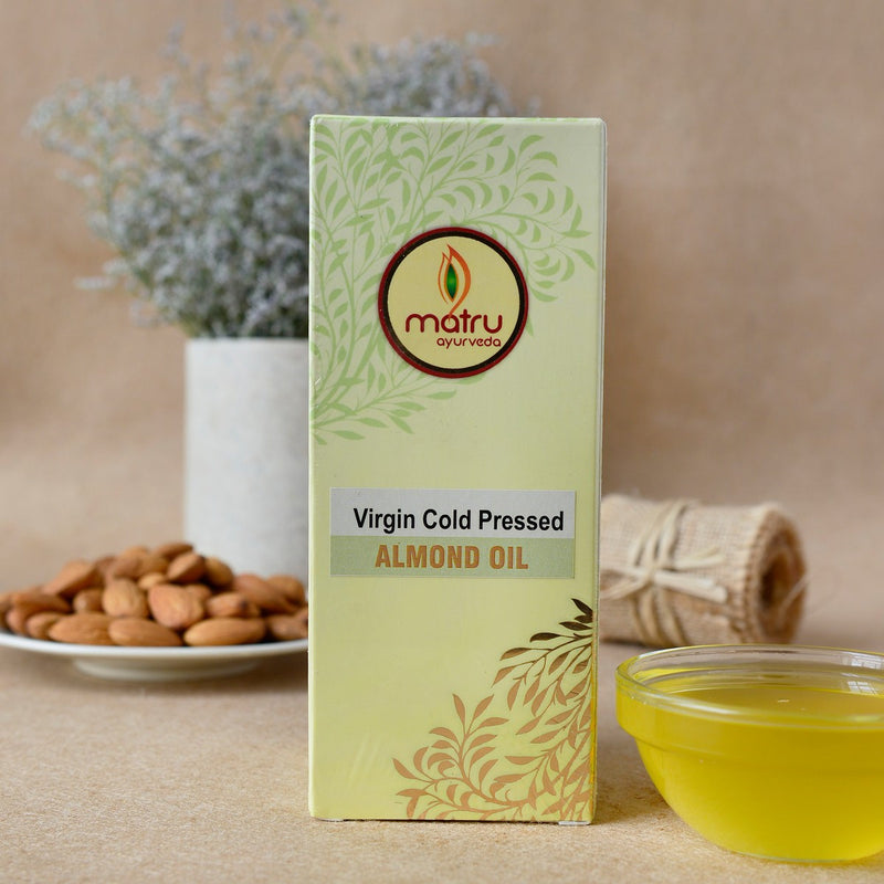 Virgin Cold Pressed Almond Oil