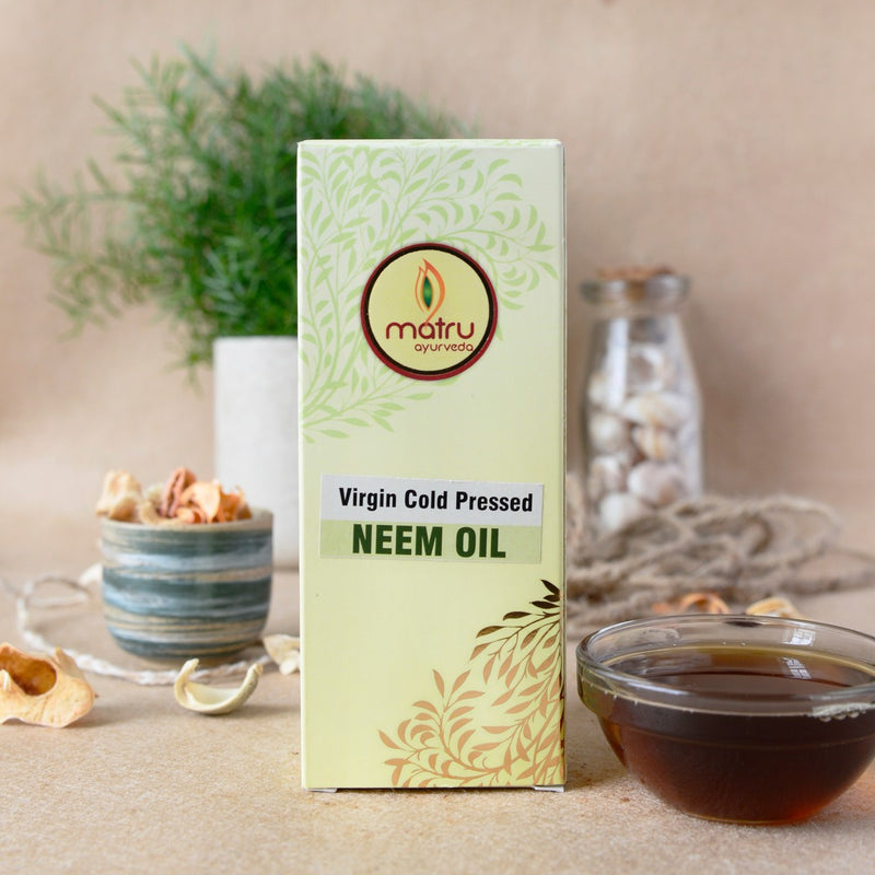 Virgin Cold Pressed Neem Oil
