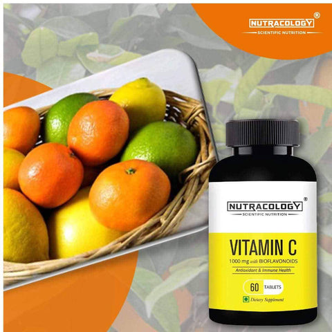 Vitamin C 1000 mg For Immunity Support - 60 Tablets