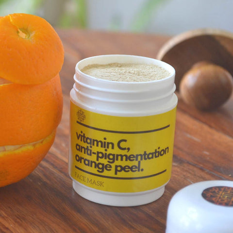 Vitamin C Anti Pigmentation Orange Peel Face Mask