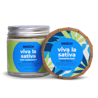 Viva La Sativa Combo (Shampoo Bar + Conditioner)