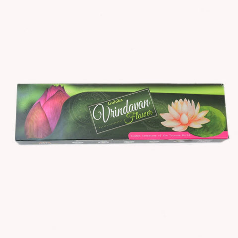 Vrindavan Flowers Incense Sticks Pack Of 3 (100 Gms Each Pack)