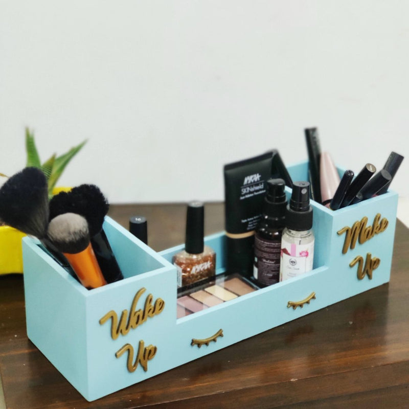 Wake Up Wooden Organizer | Table Organizer, Desk Organizer, Table Organizer, Wooden Organizers Box